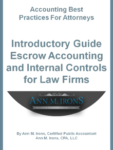 attorney escrow accounting