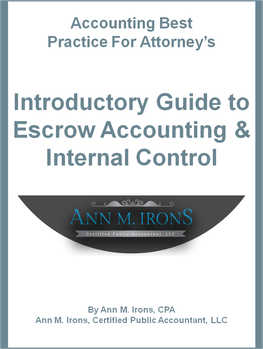 guide to escrow accounting